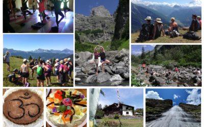 Semaine Régénérante dans les Alpes 2019
