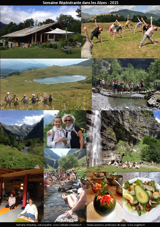 retraite régénérante naturopathie yoga samoens alpes