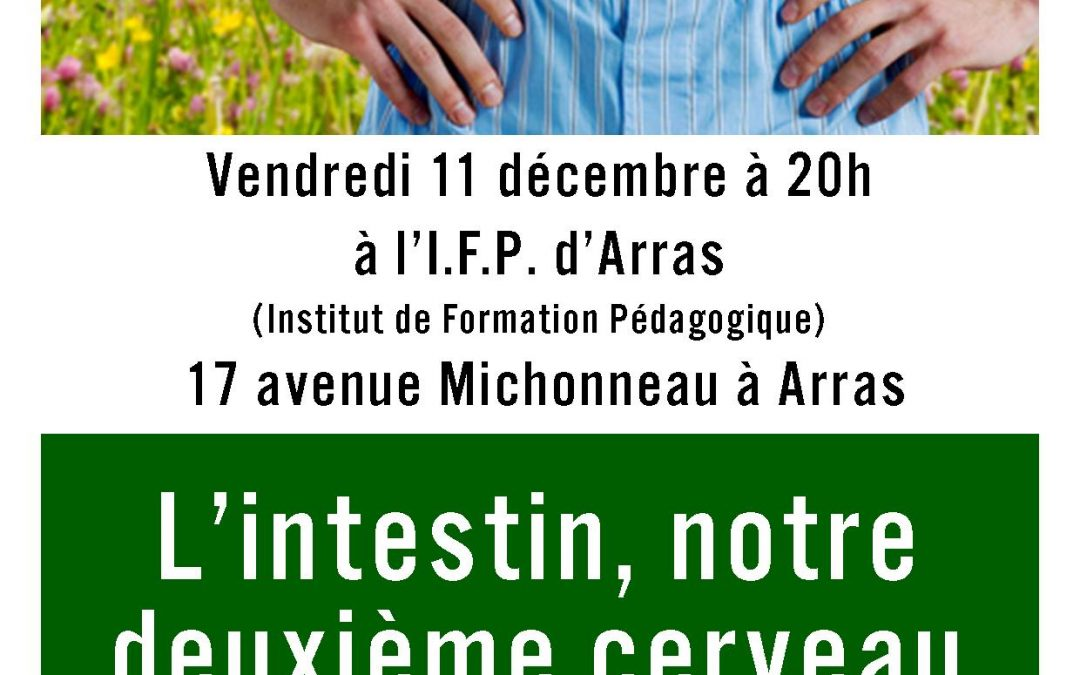 Vendredi 11 décembre 2015 20h : conférence à Arras