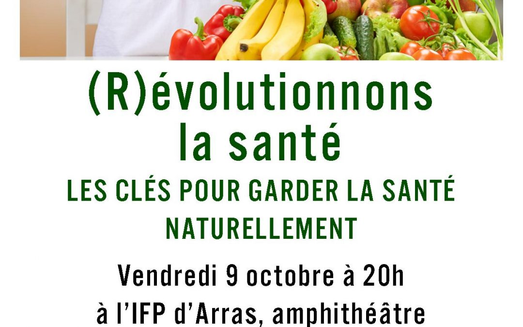 Vendredi 9 octobre 2015 à 20h : conférence à Arras