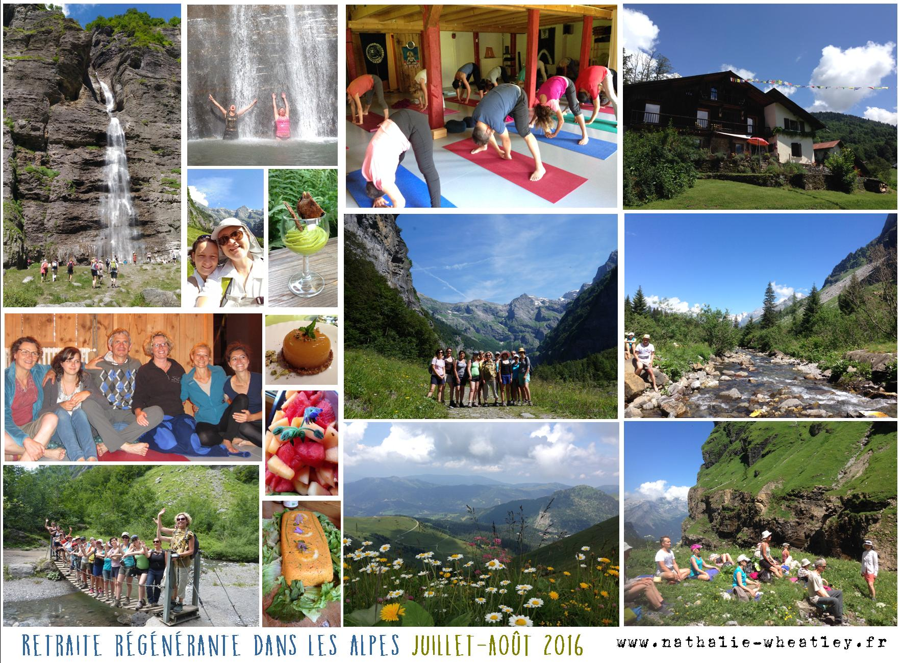 retraite régénérante samoens alpes naturopathie yoga