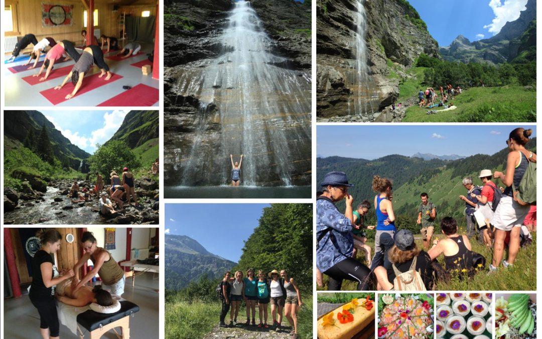 Retraite Régénérante dans les Alpes 2018